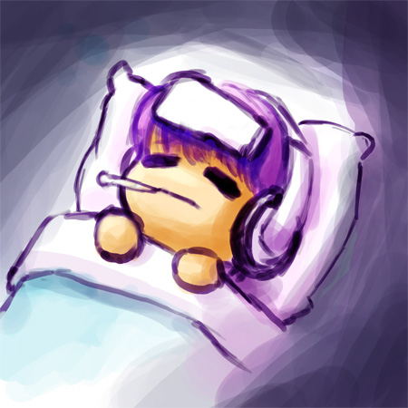 I hate being so sick….