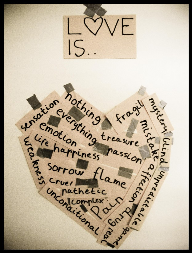 "What ""Love"" is to me…."