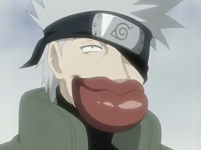 Oh dear god… WHY KAKASHI?!