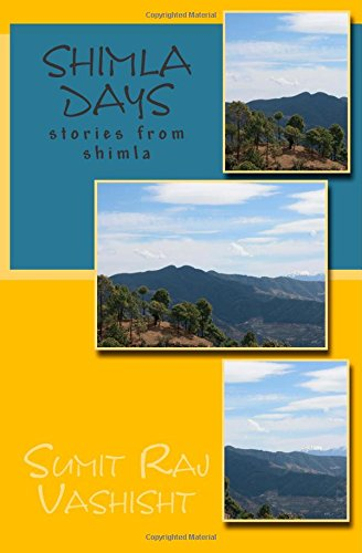 Shimla Days – My book on Amazon