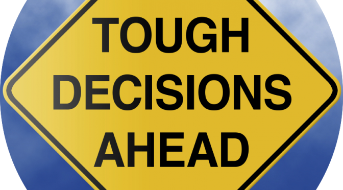 Touch decisions ahead