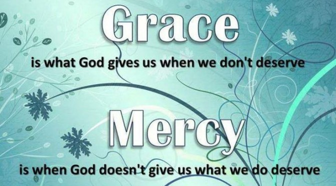 Grace vs Mercy
