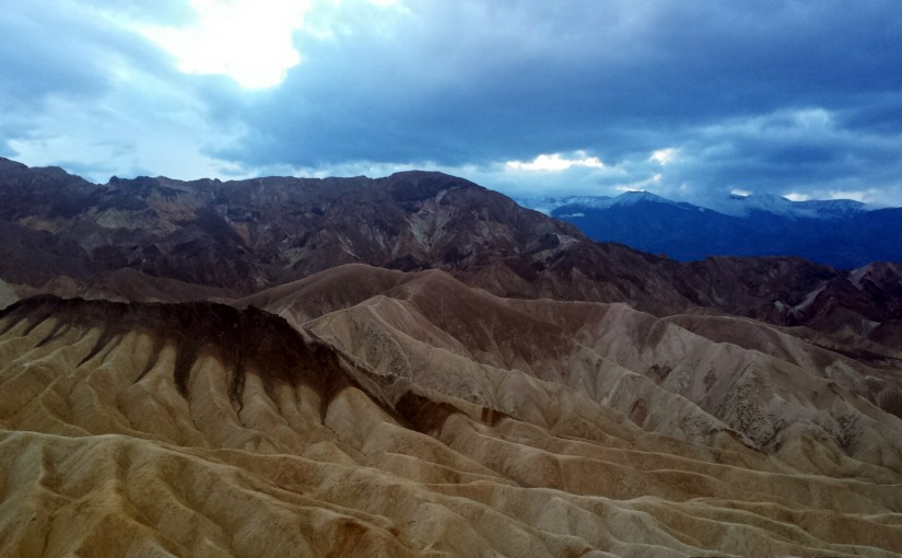 Death Valley and Death of Ego.