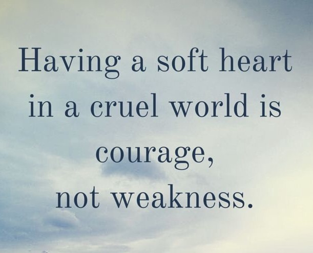 It's not a weakness its a strength