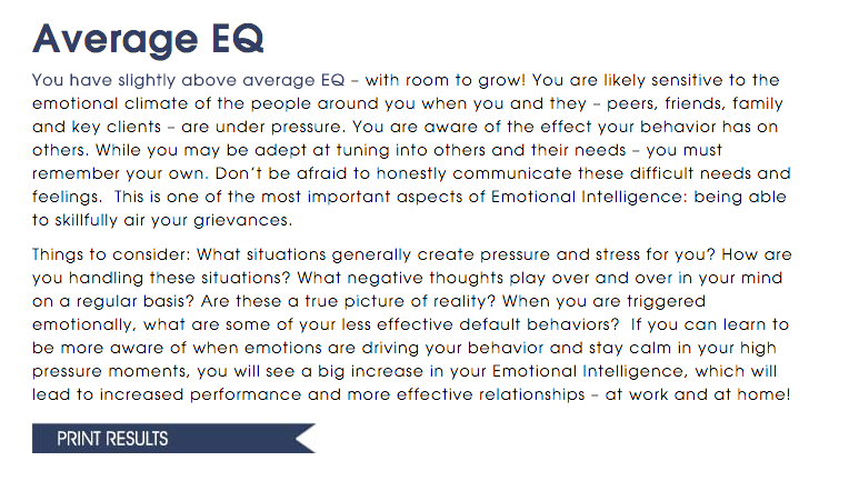 Test on Emotional Intelligence