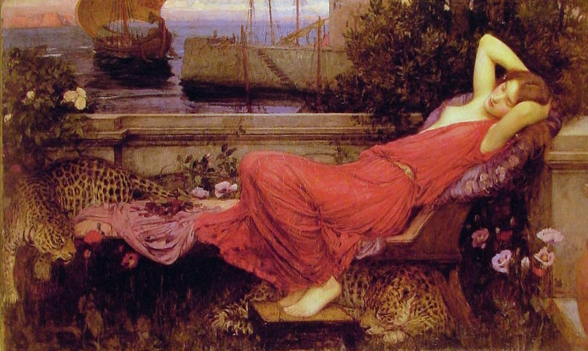Ariadne by John William Waterhouse