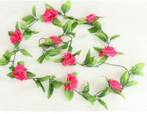 rose pink garland