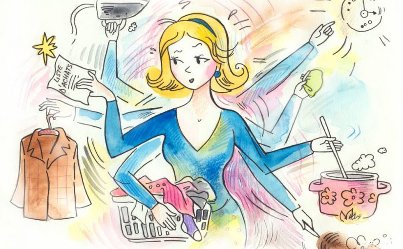 Confessions of a Part-Time Working Stay-At-Home-Mom