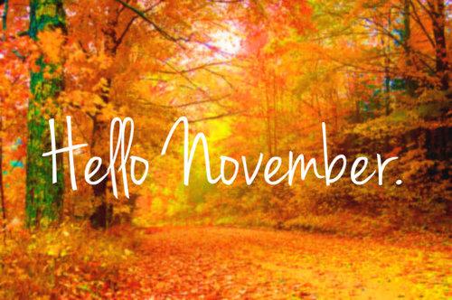 November???? Really???