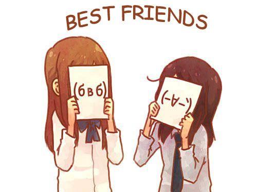 Hasil gambar untuk bestfriend cartoon