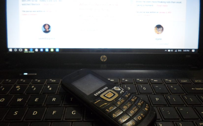 My Cell Phone and Why I can't/don't use Smart Phones