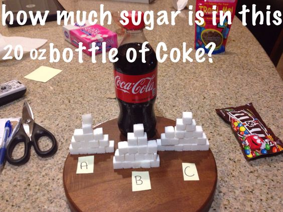 Do you know how much sugar is in that ???!!!! …YES I AM!