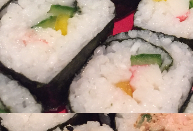 Made sushi tonight…