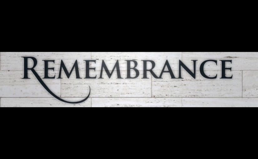 30 Days of Remembrance