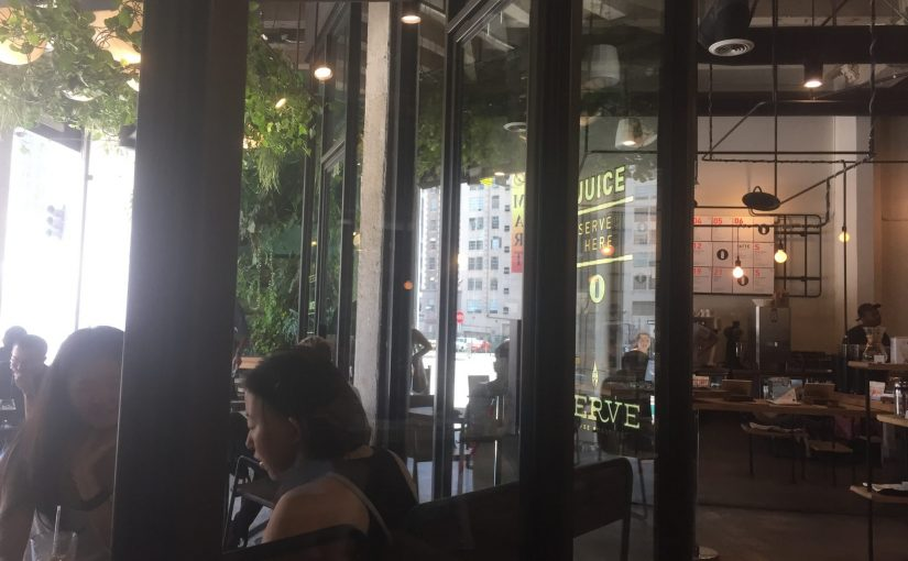 Coffee shop on Saturday
