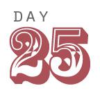 Day 25 of Sobriety