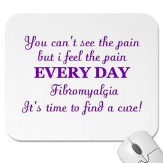 FIBROMYALGIA IS REAL!